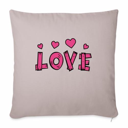 Love tuoteperhe - Sohvatyynyn päällinen 45 x 45 cm