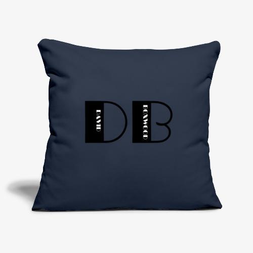 D OF DAVID, B OF BOXWOOD - Copricuscino per divano, 45 x 45 cm