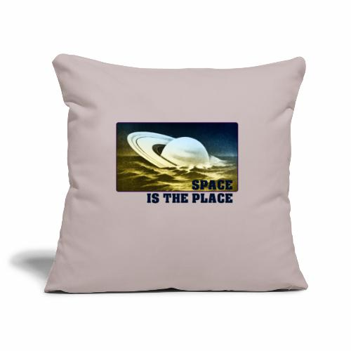 SPACE IS THE PLACE DEF RED BUBBLE 2 - Housse de coussin décorative 45 x 45 cm