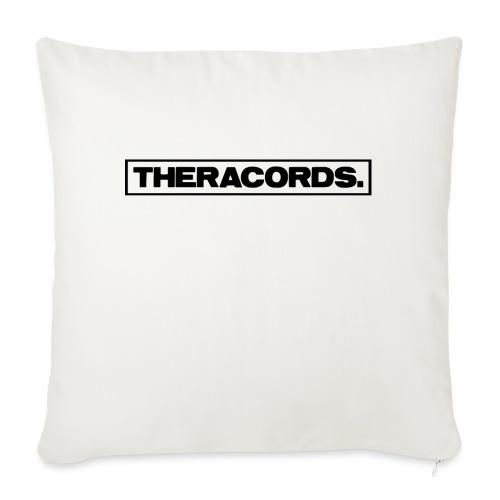 Theracords_logo_black_TP - Sierkussenhoes, 45 x 45 cm