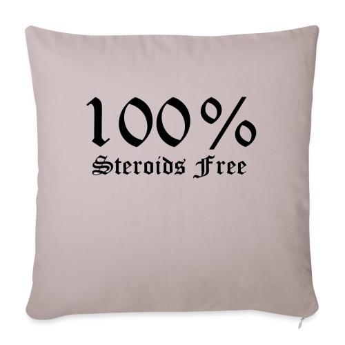 100% bez sterydów - Poszewka na poduszkę 45 x 45 cm