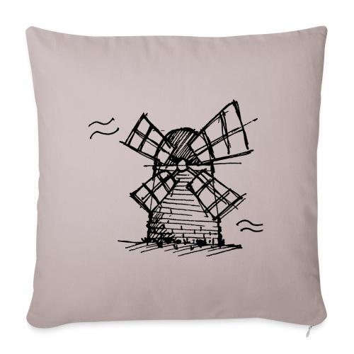 Windmill - Sofa pillowcase 17,3'' x 17,3'' (45 x 45 cm)