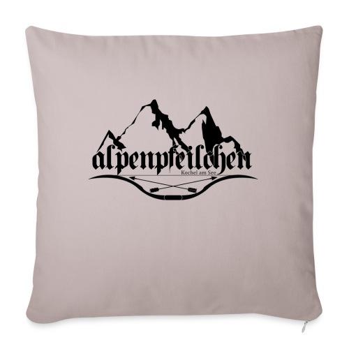 Alpenpfeilchen - Logo - Sofakissenbezug 44 x 44 cm