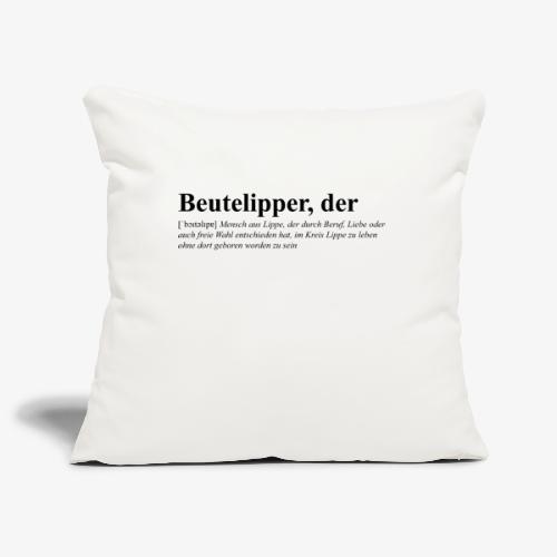 Beutelipper - Wörterbuch - Sofakissenbezug 44 x 44 cm