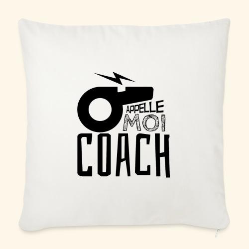 Appelle moi coach - Coach sportif - entraineur - Housse de coussin décorative 45x 45cm