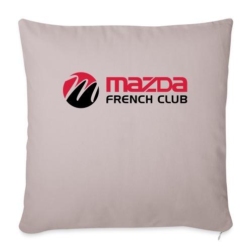 mazda french club - Housse de coussin décorative 45x 45cm