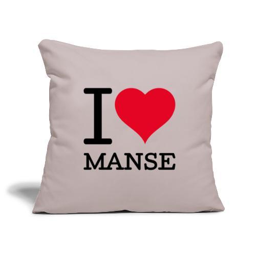 I love Manse - Sohvatyynyn päällinen 45 x 45 cm