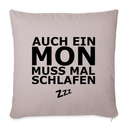 schlafen mon png - Sofakissenbezug 44 x 44 cm