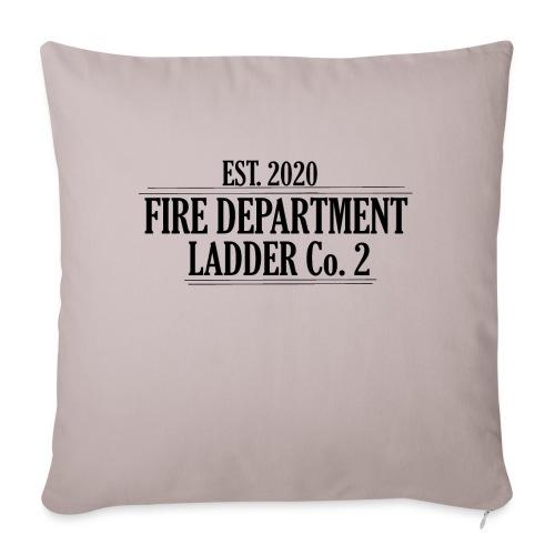 Fire Department - Ladder Co.2 - Pudebetræk 45 x 45 cm