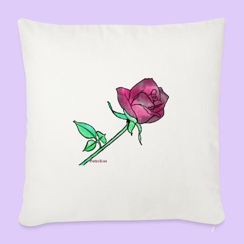 Diseño rose - Funda de cojín, 45 x 45 cm