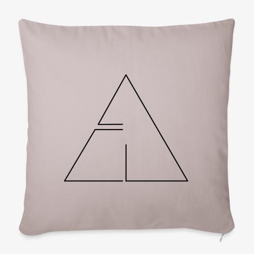 logo cg2 - Copricuscino per divano, 45 x 45 cm
