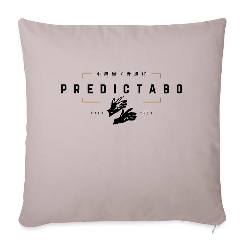 Predictabo - Housse de coussin décorative 45x 45cm