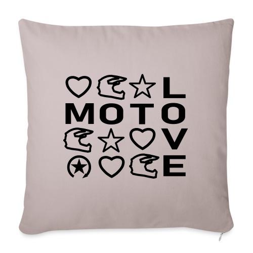 MOTOLOVE 9ML01 - Sofa pillowcase 17,3'' x 17,3'' (45 x 45 cm)