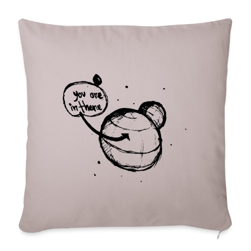 Location - Sofa pillowcase 17,3'' x 17,3'' (45 x 45 cm)