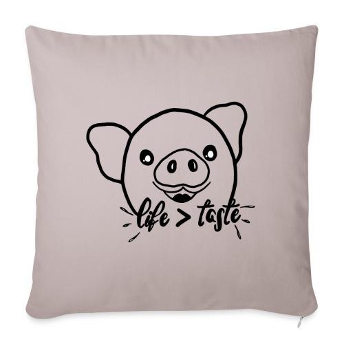 Cute Pig - Sofa pillowcase 17,3'' x 17,3'' (45 x 45 cm)