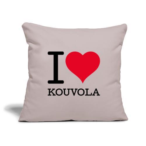 I love Kouvola - Sohvatyynyn päällinen 45 x 45 cm