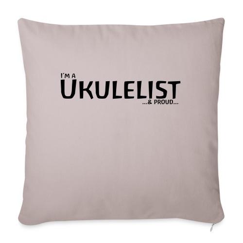 Ukulelist - Sofa pillowcase 17,3'' x 17,3'' (45 x 45 cm)