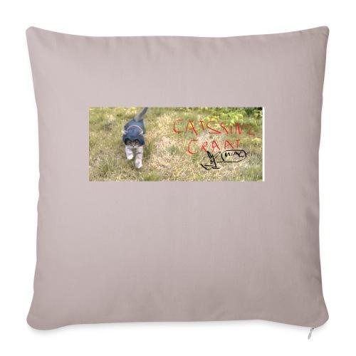 catssin's craat - Poszewka na poduszkę 45 x 45 cm