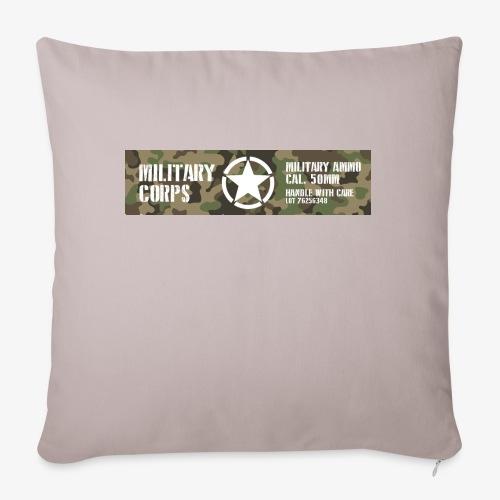 Military - Poszewka na poduszkę 45 x 45 cm