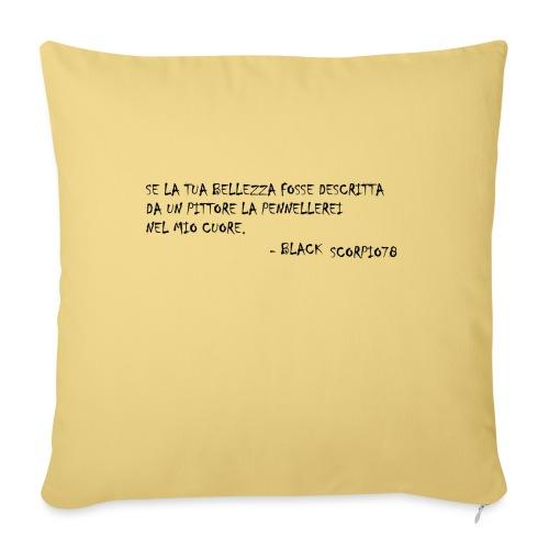 Dipinto di bellezza - Copricuscino per divano, 45 x 45 cm