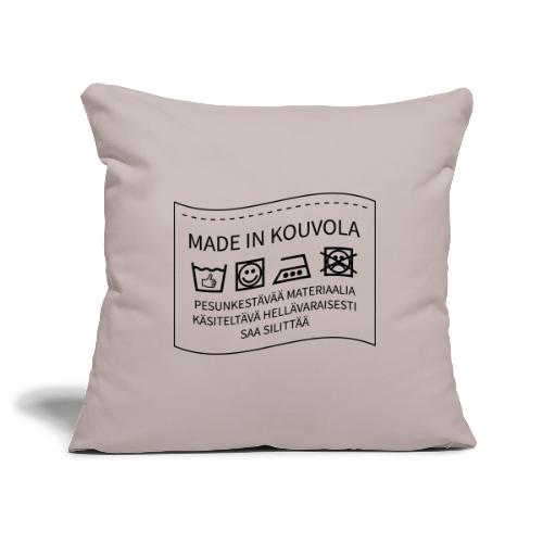 Made in Kouvola - Sohvatyynyn päällinen 45 x 45 cm