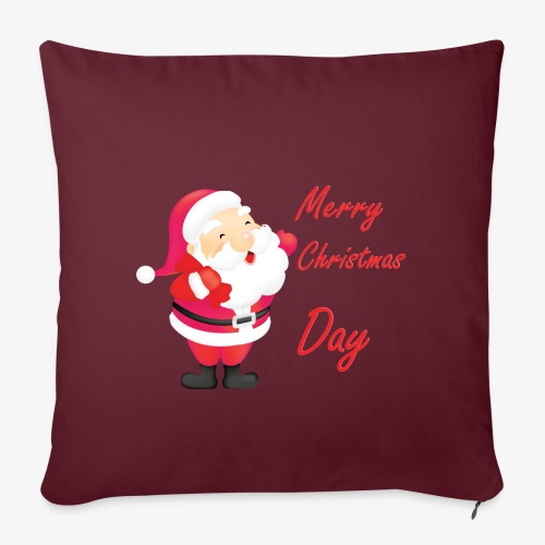 Merry Christmas Day Collections - Housse de coussin décorative 45 x 45 cm