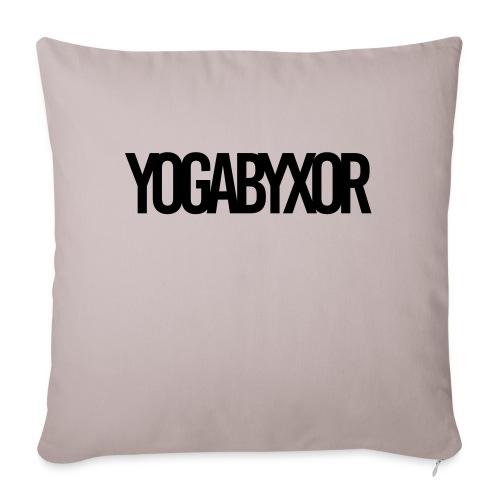 yogabyxor1 - Soffkuddsöverdrag, 45 x 45 cm