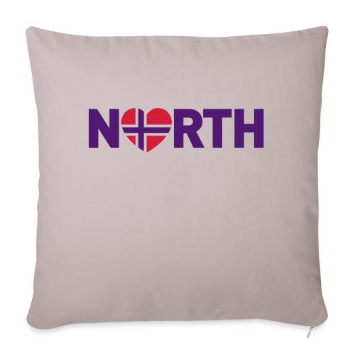 Nord-Norge på engelsk - plagget.no - Sofaputetrekk 45 x 45 cm