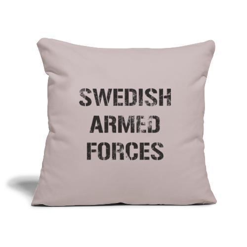 SWEDISH ARMED FORCES - Rugged - Soffkuddsöverdrag, 45 x 45 cm