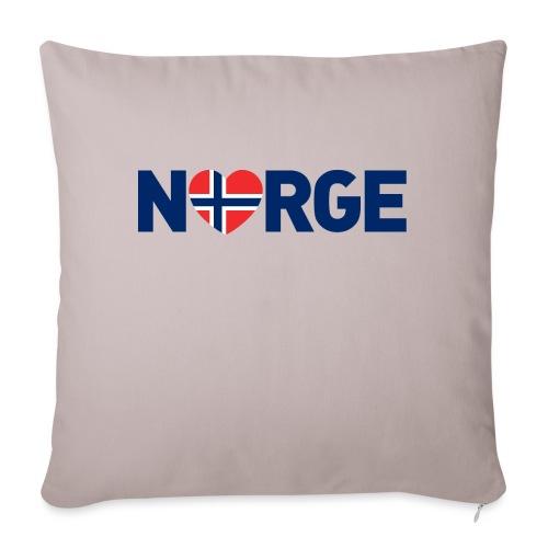 Elsker Norge - fra Det norske plagg - Sofaputetrekk 45 x 45 cm