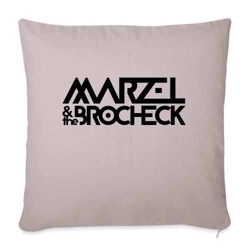 Marzel And The Brocheck - Sofakissenbezug 44 x 44 cm