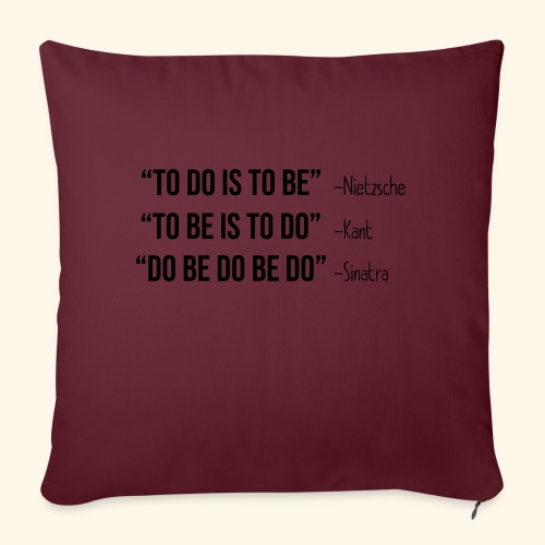Do Be Do Be Do - Frank Sinatra - Sofakissenbezug 44 x 44 cm