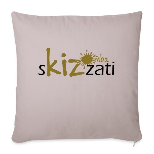 Beanie in jersey con logo sKizzati Kizomba - Verde - Copricuscino per divano, 45 x 45 cm