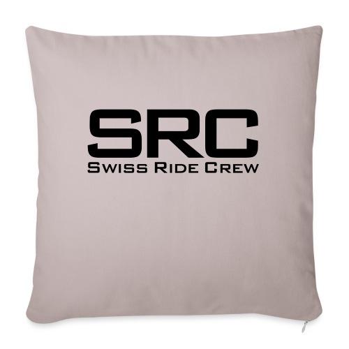 SRC Wintermütze Weiss - Sofakissenbezug 44 x 44 cm