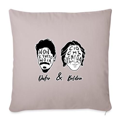 DuFer & Boldrin - Copricuscino per divano, 45 x 45 cm