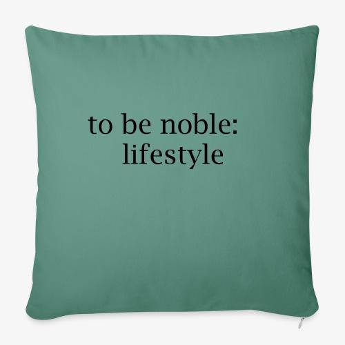 THE LIFESTYLE - Copricuscino per divano, 45 x 45 cm
