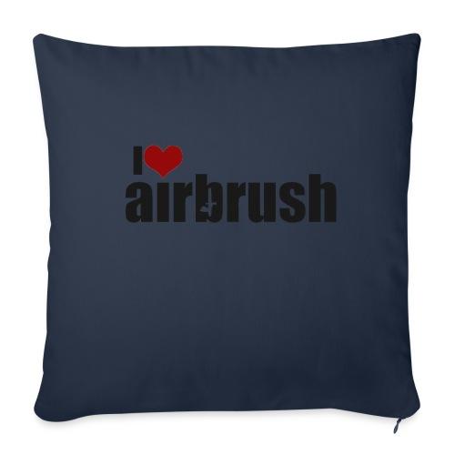 I Love airbrush - Sofakissenbezug 44 x 44 cm