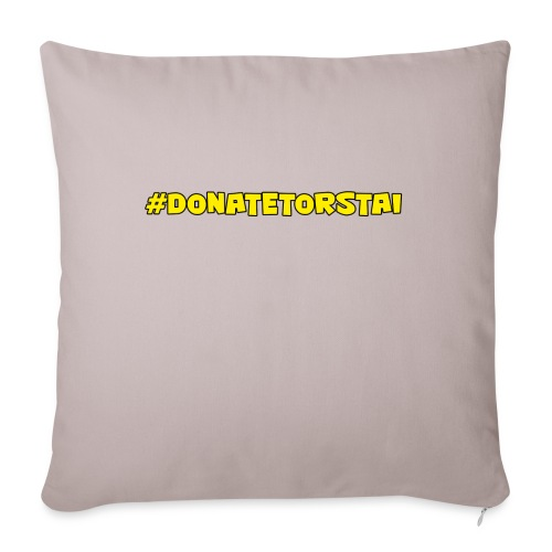 donatelogo - Sohvatyynyn päällinen 45 x 45 cm