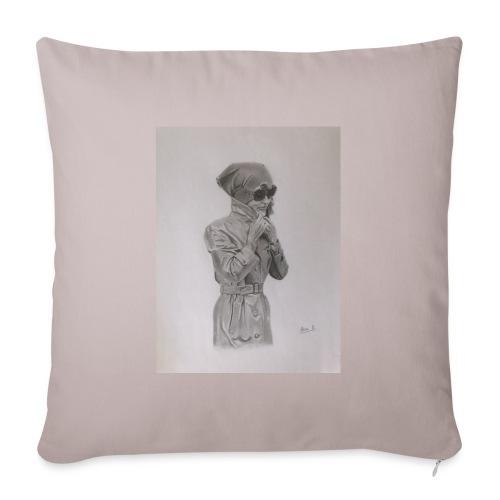 Colección Jacky - Funda de cojín, 45 x 45 cm