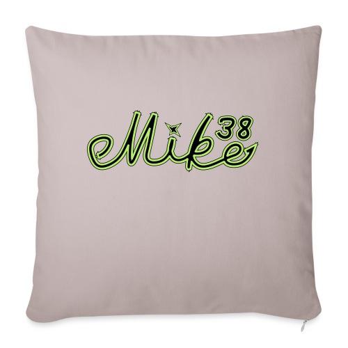 mike38teksti - Sohvatyynyn päällinen 45 x 45 cm