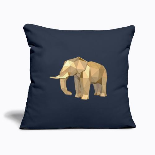 elephant geometric - Sofa pillowcase 17,3'' x 17,3'' (45 x 45 cm)