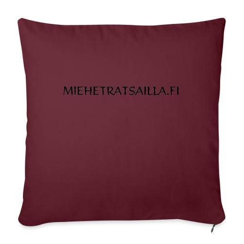 miehetratsailla - Sohvatyynyn päällinen 45 x 45 cm