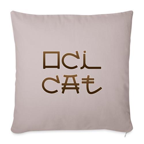 Ocicat - Housse de coussin décorative 45x 45cm