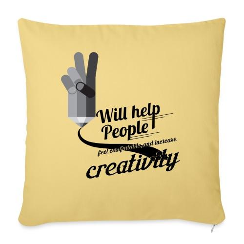 crati - Sofa pillowcase 17,3'' x 17,3'' (45 x 45 cm)