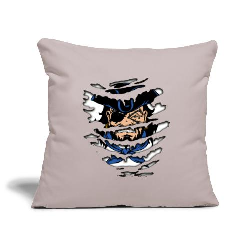 Pirates inside - Copricuscino per divano, 45 x 45 cm