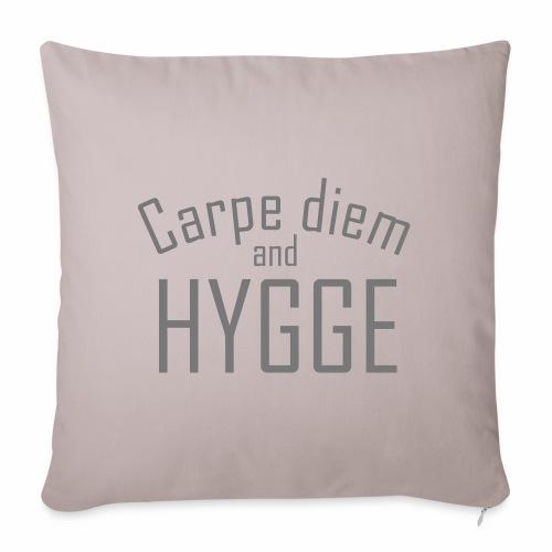 HYGGE Carpe diem - Sofakissenbezug 44 x 44 cm