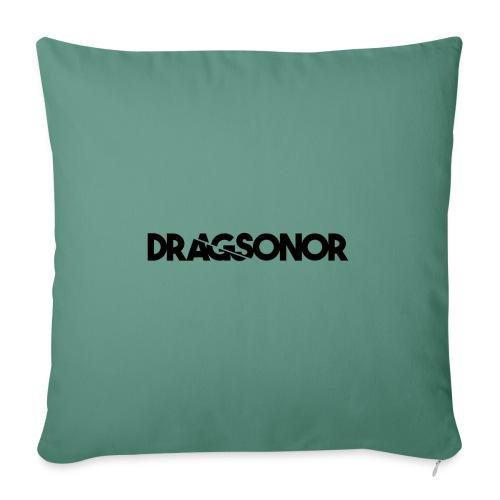 DRAGSONOR black - Sofa pillowcase 17,3'' x 17,3'' (45 x 45 cm)