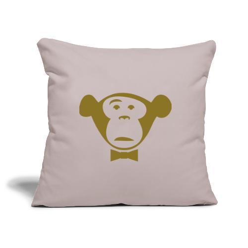 Monkey Media Official Logo - Sofakissenbezug 44 x 44 cm