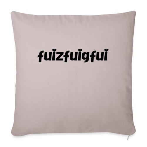 fuizfuigfui - Sofakissenbezug 44 x 44 cm