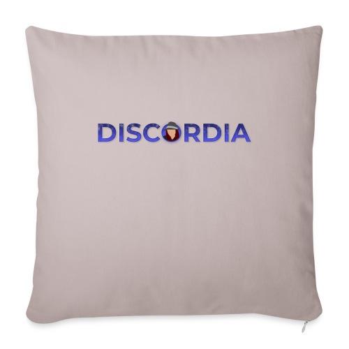 Discordia Logo - Sofa pillowcase 17,3'' x 17,3'' (45 x 45 cm)